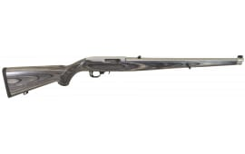 "Ruger 1132 10/22 Carbine Semi-Auto 22 Long Rifle 18.5"" 10+1 Laminate Gray Stock Stainless Steel"
