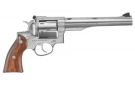 "Ruger 5003 Redhawk Stainless DA/SA .44 7.5"" 6 Hardwood Stainless Revolver"