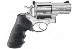 """Ruger 5302 Super Redhawk Alaskan DA/SA .480 Ruger 2.5"""" 6 Hogue Tamer Monogrip Black Stainless Revolver"""