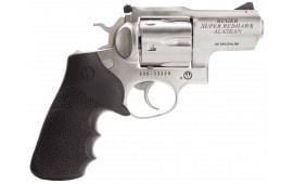 "Ruger 5303 Super Redhawk Alaskan DA/SA .44 2.5"" 6 Hogue Tamer Monogrip Black Stainless Revolver"