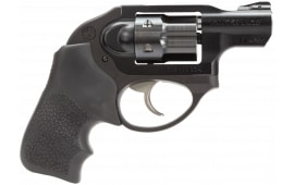 "Ruger 5414 LCR Standard Double .22 Mag 1.87"" 6 Hogue Tamer Monogrip Black Black Stainless Steel Revolver"