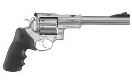 """Ruger 5507 Super Redhawk Alaskan DA/SA .480 Ruger 7.5"""" 6 Hogue Tamer Monogrip Black Stainless Revolver"""