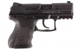 "HK 730901KA5 P30SK Subcmpct V1 Light LEM DAO 9mm 3.27"" 10+1 2 Mags Poly Grip Black"