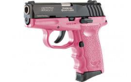 SCCY CPX3CBPK CPX3-CB Pistol DAO .380 10rd BLACK/PINK w/O Safety