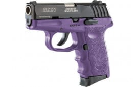 Sccy CPX3CBPU CPX3-CB Pistol DAO .380 10rd BLACK/PURPLE w/O Safety