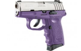 SCCY CPX3TTPU CPX3-TT Pistol DAO .380 10rd SS/PURPLE w/O Safety