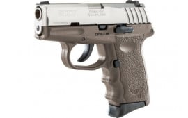 Sccy CPX3TTDE CPX3-TT Pistol DAO .380 10rd SS/FDE w/O Safety