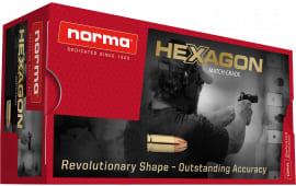 Norma 299340050 357 180 Hexagon - 50rd Box