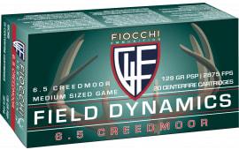 Fiocchi 65CMB 6.5 Creedmoor 129 PSP - 20rd Box