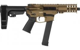 CMMG 99A172FBB Pistol Banshee 300 MKGS (GLOCK) 33rd Burnt Bronze
