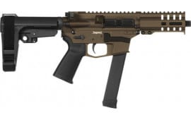 CMMG 99A172FMB Pistol Banshee 300 MKGS 9MM(GLOCK)33rd Midnight Bronze