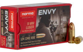 Norma 299440050 9mm 124 Envy - 50rd Box