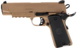 MKE Firearms 390054 MC1911C Commander ADJ. Sights FDE