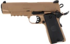 MKE Firearms 390054 MC1911C Commander ADJ. Sights FDE