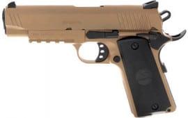 MKE Firearms 390074 MC1911C Commander ADJ. SGT FDE
