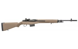 "Springfield Armory MA9120 M1A Standard Semi-Auto 308 Win/7.62 NATO 22"" 10+1 Synthetic FDE Stock Black Parkerized"