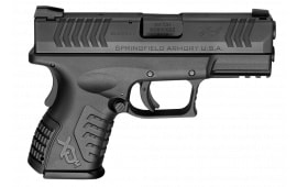 "Springfield Armory XDM9389CBHCE XD(M) Compact Double 9mm 3.8"" 13+1/ 19+1 Grip Extension Black"