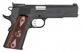 "Springfield Armory PI9129L 1911 Single 9mm 5"" 9+1 Cocobolo Grip Black Parkerized"