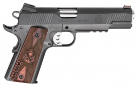 "Springfield Armory PI9130L 1911 Single 9mm 5"" 9+1 Cocobolo Grip Black Parkerized"
