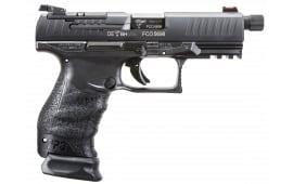 Walther 2825929 PPQ M2 Q4 TAC 9mm Threaded Barrel 15rd