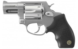 "Taurus 2856029 Model 856 Standard .38 Special 2"" 6rd Fixed Sight Black Synthetic Grip SS Revolver"