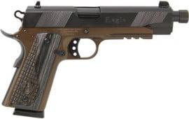 Iver Johnson Arms GIJ45 Johnson 1911A1 Eagle LR Threaded Bronze Frame