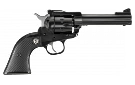 """Ruger 0623 Single-Six Convertible Single 22 Long Rifle 4.6"""" 6 Black Rubber Blued Revolver"""