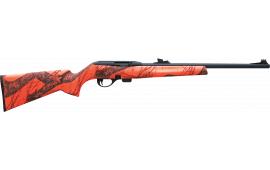 "Remington 80853 597 Camo SA 20"" 10+1 FO Mossy Oak Blaze Orange Camo Synthetic Stock Black"