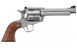 "Ruger 0811 Super Blackhawk Standard Single .44 5.5"" 6 Hardwood Stainless Revolver"