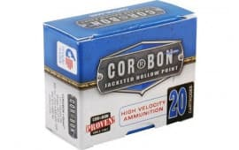 Cor-Bon Original 45 ACP +P 200 GR Jacketed Hollow Point (JHP) - 20rd Box