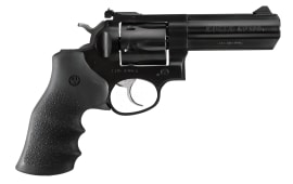 "Ruger 1702 GP100 DA/SA .357 4.2"" 6 Hogue Monogrip Black Grip Blued Revolver"