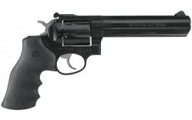 """Ruger 1704 GP100 Standard DA/SA .357 6"""" 6 Hogue Monogrip Black Blued Revolver"""