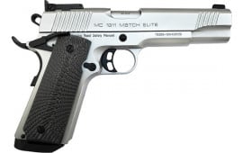 MKE Firearms 390095 Girsan MC1911 Match GOV'T Elite ADJ. SGT. Chrome