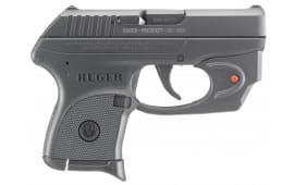 "Ruger 3752 LCP DA/SA 380 ACP 2.75"" 6+1 Black Checkered Grip Blued"