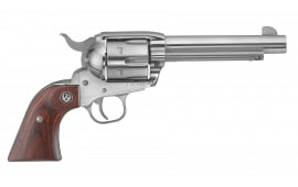"""Ruger 5108 Vaquero Standard Single .357 5.5"""" 6 Rosewood Stainless Revolver"""