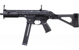LWRCI SMGPB45B8S SMG PSTL 45A FLD Brace Black