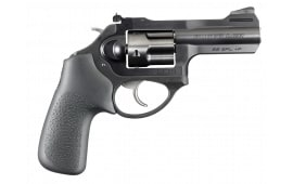 "Ruger 5431 LCR LCRx 3"" DA/SA .38 Special 3"" 5 Hogue Tamer Monogrip Black Stainless Steel Revolver"