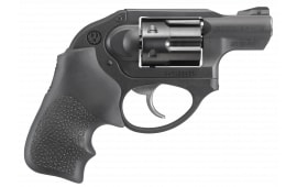 "Ruger 5452 LCR Double Action Revolver Double .327 Federal Mag 1.87"" 6 Hogue Tamer Monogrip Black Revolver"