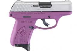 Ruger 3295 EC9s AS7rdSilver Slide Purple Frame