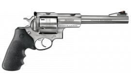 "Ruger 5505 Super Redhawk Alaskan DA/SA .454 Casull 7.5"" 6 Hogue Tamer Monogrip Black Stainless Revolver"