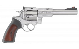 Ruger 5524 Super Redhawk 10MM 6.5 SS Rubber/wood Revolver