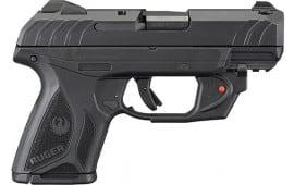 Ruger 3830 SECURITY-9 Compact Adjustable10rdBlued Laser