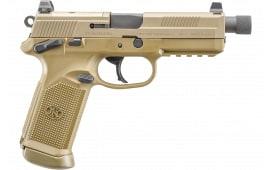 FN 66100659 FNX45 45 TAC MS Venom 15rd FDE/FDE