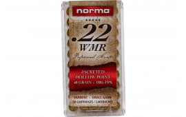 Norma 297140050 22WMR Jacketed Hollow Point 40 GR - 50rd Box