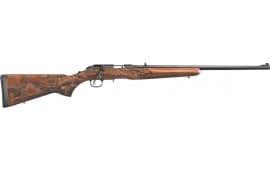 Ruger 8345 American .22 Magnum Blued American Farmer Wood STK