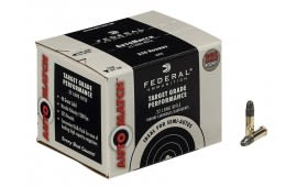 Federal AutoMatch 22LR 40gr Lead Round Nose Ammo - 325rd Bulk Pack