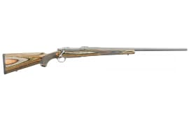 """Ruger 17123 Hawkeye Predator Bolt .204 Ruger 24"""" 5+1 Laminate Green Mountain Stock Stainless Steel"""