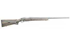 "Ruger 17974 Hawkeye Varmint Target Bolt .204 Ruger 26"" 5+1 Laminate Gray Stock Stainless Steel"