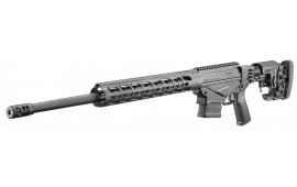 """Ruger 18016 Precision Rifle Bolt 6mm Creedmoor 24"""" 10+1 Folding Adjustable Black"""