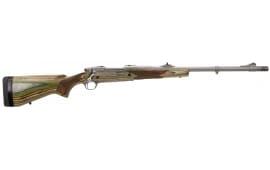 "Ruger 47130 Guide Gun Standard Bolt .416 Ruger 20"" 3+1 Laminate Green Mountain Stock Stainless Steel"
